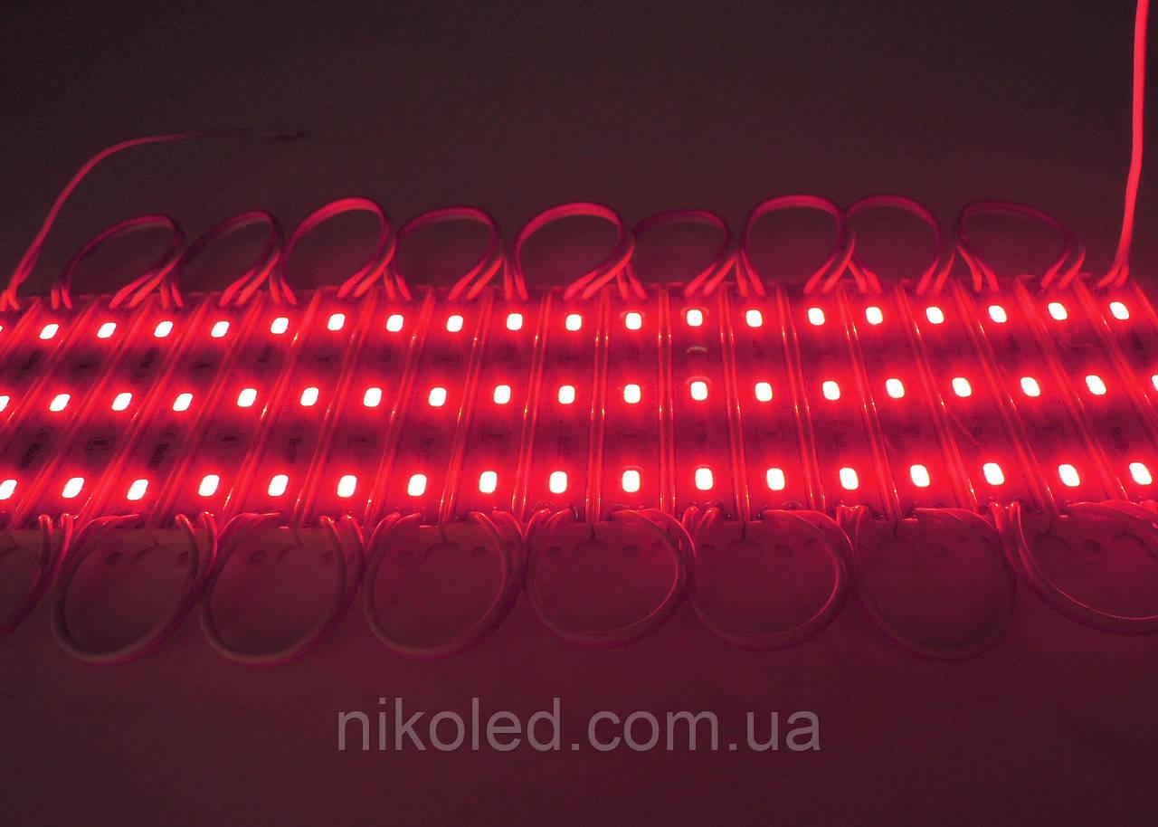 Светодиодный модуль SMD5730 красный