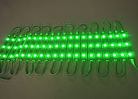 Светодиодный модуль SMD5050-3 зеленый, фото 1