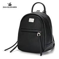 Рюкзак городской женский мини DAVID JONES (черный), фото 1