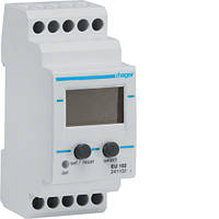 Реле контролю напруги, 1-фазне, вбудований вольтметр код EU102