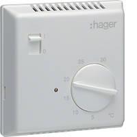Термостат біметалевий, ручное ВКЛ/ВИМК 230В/ 10А, контакт - НВ  код EK051