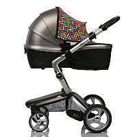 Color Must Have Shade ДоРечі™ 2 в 1. Солнцезащитный козырек на коляску с черной москитной сеткой