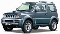 Накладки на пороги Suzuki Jimny (1998+)