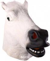Маска латексная Лошадь Белая