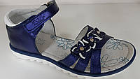 Босоножки сандалии для девочек ОРТОПЕД  КОЖА. ТМ B&G. Размер 30-34, фото 1