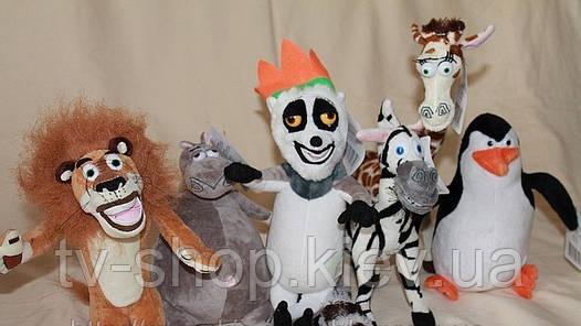 "Мягкие игрушки из м\ф ""Мадагаскар"""