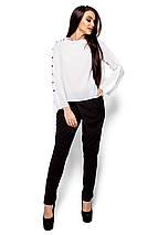 Легкая свободная блуза Karree белая, фото 2