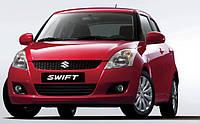 Накладки на пороги Suzuki Swift 5D (2010+)