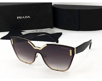 Женские солнцезащитные очки PRADA (17094) brown SR-821