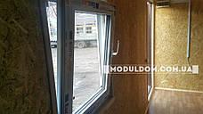 Душевой модуль, 3 душевых кабины, 3 умывальника, бойлер, на основе цельно-сварного металлокаркаса., фото 2