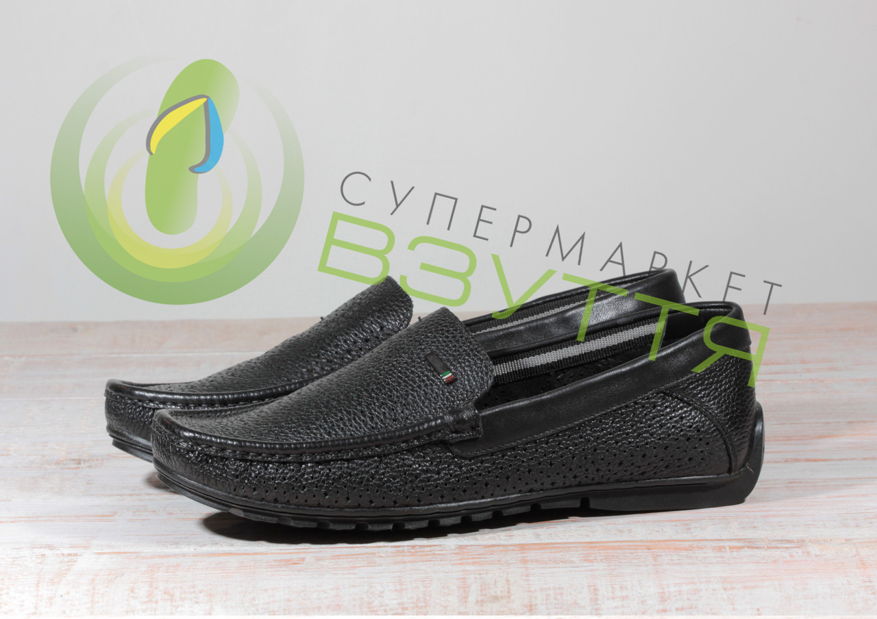Кожаные мужские туфли Мида 13024 син 42 c3beb326985c0