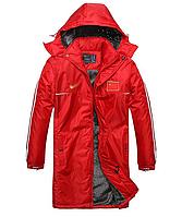 Куртка зимняя мужская длинная Nike  МК 055-И, фото 1