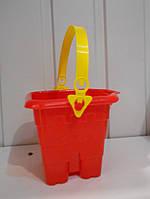Детское ведро Замок для песка и воды Л-028