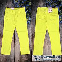 Детские цветные брюки для девочек Размеры: от 3 до 6лет (6325)