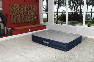 Надувная кровать BestWay 67600 ( 203х152х43 см) - электронасос, фото 3