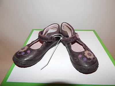 Туфлі дитячі шкіра Clarks 25 р. 013КД