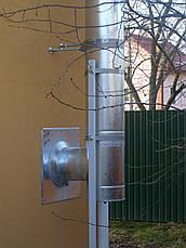 Труба-сэндвич дымоходная (термо) 1 метр 1 мм н/оц AISI 304, фото 3