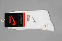 Носки спортивные унисекс в стиле Nike 24-28 White, фото 1