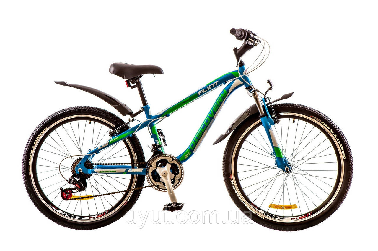 24'' Discovery FLINT AM 2017 (сине-зелено-белый (м))
