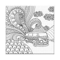 Раскраска антистресс Сказочное путешествие (AR01) 20 х 20 см ArtStory [Без коробки]