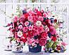 Картина по номерам Розовые хризантемы (AS0115) 40 х 50 см ArtStory