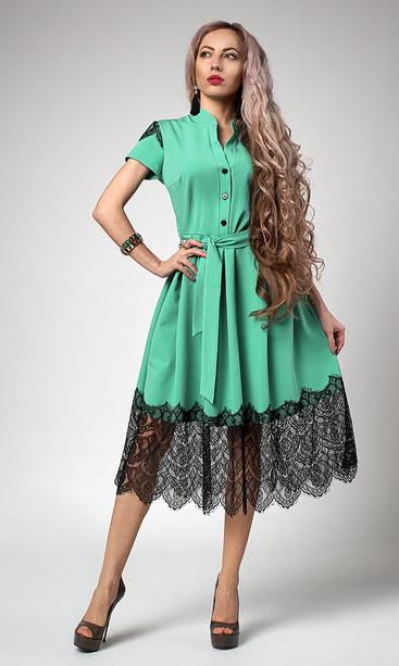"""Шикарное платье  """"Вилена"""" размер 44,46,48,50,52 мята"""