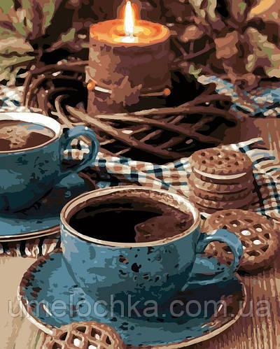 Раскраска для взрослых Вечерний чай (AS0130) 40 х 50 см ArtStory