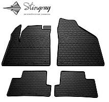 JEEP Cherokee KL 2013- Комплект из 4-х ковриков Черный в салон