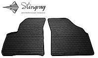 Резиновые коврики Stingray Стингрей Chevrolet Tacuma 2000- Комплект из 2-х ковриков Черный в салон