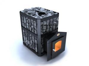 Каменка Новаслав Пруток ПКС - 02 до 18 м.куб со стеклом
