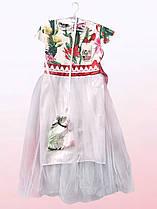 Нарядное платье для девочек с фатином (2403/30)
