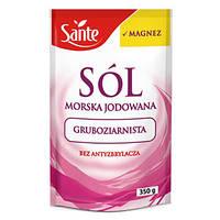 Морская крупнозернистая соль с магнием Sante, 350 гр