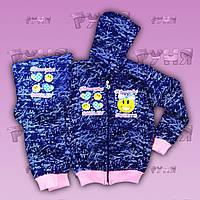 """Детский спортивный костюм """"Beautiful Smiley"""" для девочек3-4, 4-5, 6-7 лет"""