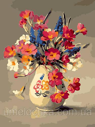 Картина по номерам Цветы из палисадника (AS0215) 30 х 40 см ArtStory [Без коробки]