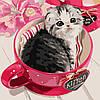 Раскраска для взрослых Пушистое чудо (AS0230) 40 х 40 см ArtStory [Без коробки]