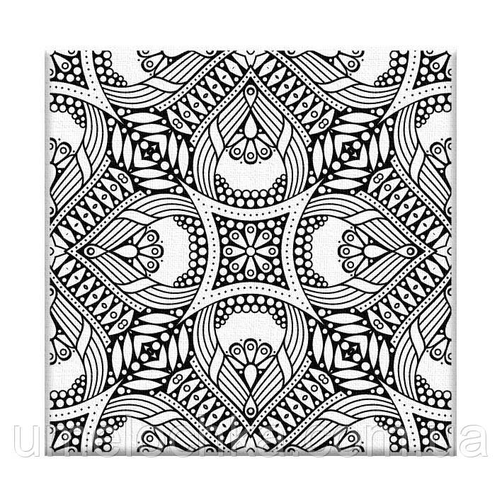 Раскраска антистресс Орнамент (AR08) 20 х 20 см ArtStory [Без коробки]