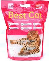 Бест Кет Best Cat силикагелевый наполнитель для кошачьего туалета цветы 10 л (3,6 кг)