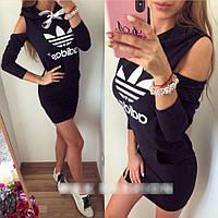 Модная женская туника в стиле adidas, фото 1