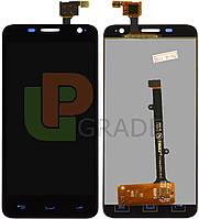 Дисплей для Alcatel 6012 Onetouch Idol Mini/6012A/6012D/6012W/6012X/6012E + touchscreen, черный