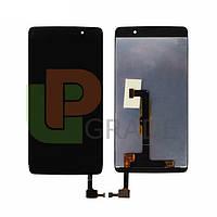 Дисплей для Alcatel 6055K Onetouch Idol 4 Dual Sim + тачскрин, черный