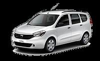 Накладки на пороги Renault Lodgy (2012+)