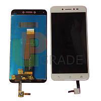 Дисплей  Asus ZenFone Live (ZB501KL) с тачскрином (модуль), золотистый
