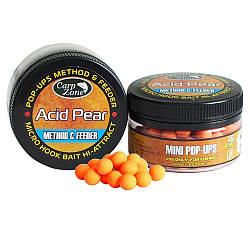 Поп Ап CarpZone Pop-Ups Method & Feeder Acid Pear (Кислая Груша) 8mm 90pc