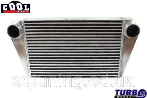 """Интеркулер backward TurboWorks 550x350x76 3"""" (76 мм)"""