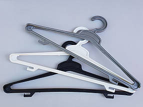 Плечики вешалки тремпеля ( Гем ), длина 45 см, в упаковке 5 штук, фото 2