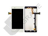 Дисплей для Fly iQ453 Quad Luminor FHD/BLU L240A Life Pure/L240I Life Pure/Gionee Elife E6 + touchscreen, белый