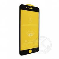 Защитное стекло 6D iPhone8/iPhone7 black