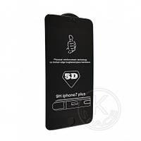 Защитное стекло 5D iPhone 7 plus black