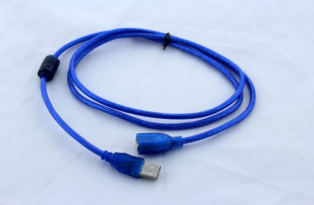 Удлинитель USB 2.0 a/f 1.5m (500)  в уп. 500шт.