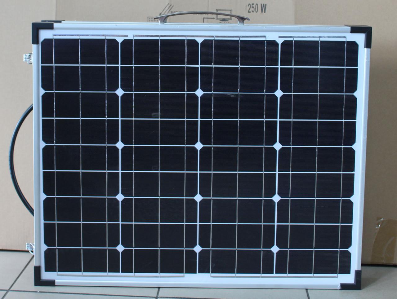 Solar board 2F 120W 18V 670*540*35*35 FOLD (1)  в уп. 1шт.
